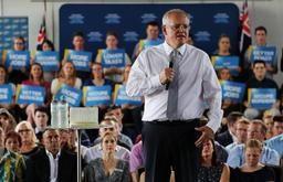 Le premier ministre australien visé par un oeuf lors d'un évènement de campagne électorale