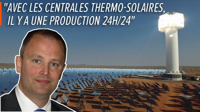 Cette entreprise liégeoise installe des centrales thermo-solaires capables de STOCKER l'énergie: