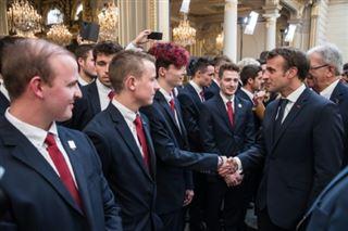 Macron célèbre l'apprentissage avant les Worldskills 2019