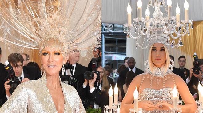 Céline Dion et Katy Perry: le bisou sur la bouche qui fait parler de lui (photo)