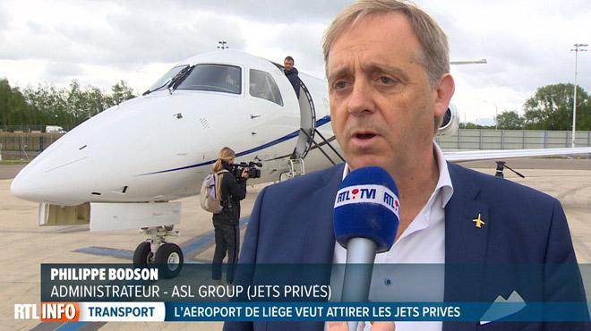 Comment l'aéroport de Liège veut attirer plus de jets privés sur son tarmac