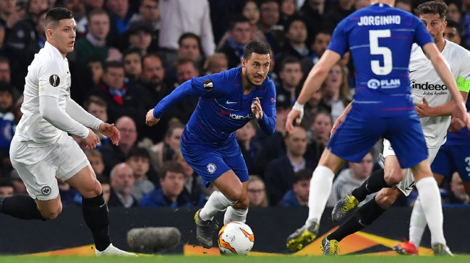 Europa League: Eden Hazard offre une finale d'Europa League à Chelsea aux tirs au but !