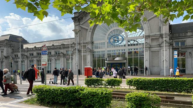 La gare de Charleroi-Sud évacuée ce matin: fausse alerte, la circulation a repris