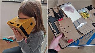 Les tests de Mathieu- Nintendo surprend à nouveau avec son Labo, mélangeant accessoires en carton et réalité virtuelle