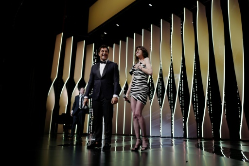 Javier Bardem et Charlotte Gainsbourg déclarent ouvert le 72e festival de Cannes