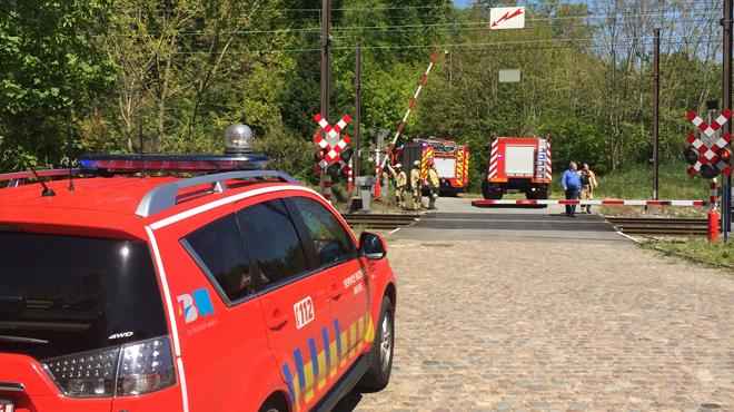 Incendie de talus à Archennes: le trafic des trains est interrompu et remplacé par des navettes