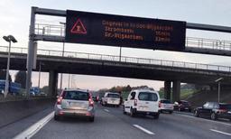 Vilvorde veut une limitation de la vitesse à 90km/h sur l'ensemble du Ring de Bruxelles