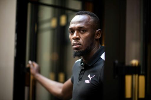 Usain Bolt: la foule,