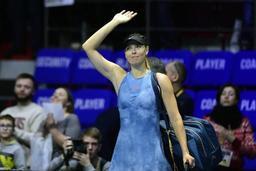 Roland-Garros - Maria Sharapova déclare forfait pour les Internationaux de France