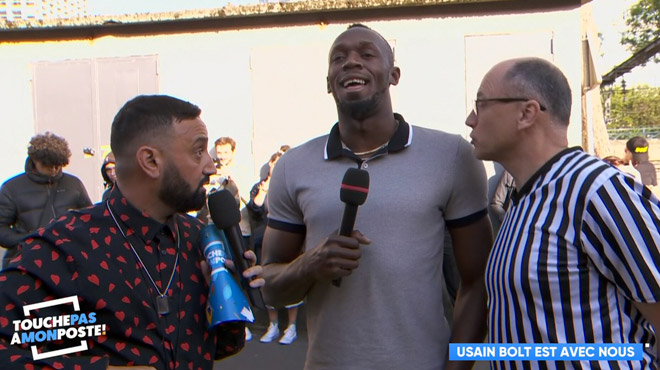Usain Bolt fait une apparition SURPRISE dans TPMP: le sportif présente son surprenant nouveau business
