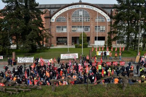 La sucrerieSaint-Louis d'Eppeville paralysée par la grève