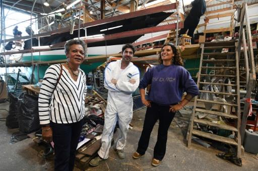 Brest: nouvelle naissance du mythique voilier de Tabarly, Pen-Duick