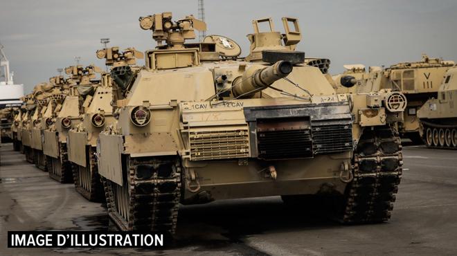 Une centaine de véhicules de l'armée déclarés hors service: le dispositif anti-feu pas fiable