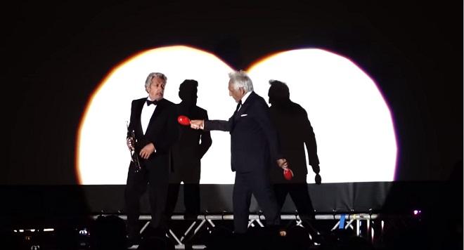 La Carioca: Alain Chabat et Gérard Darmon rejouent à Cannes la scène culte de la Cité de la peur (vidéo)