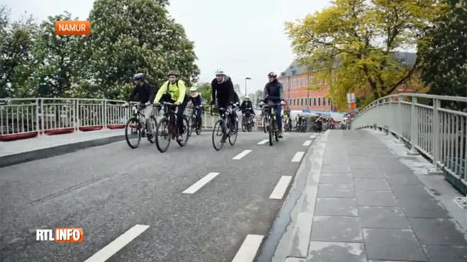 400 élèves ont rejoint l'école à vélo plutôt qu'en voiture ce vendredi à Namur: