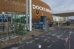 Le White Cinema peut rester à Docks Bruxsel, selon une mesure provisoire