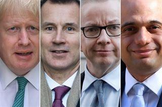Les prétendants à la succession de Theresa May