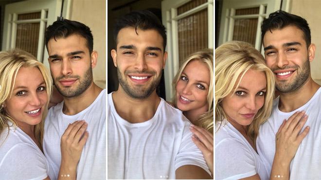 Britney Spears fait une grande déclaration d'amour à son chéri sur Instagram (photos)