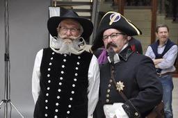 Parade des plus belles barbes et moustaches à Anvers dimanche