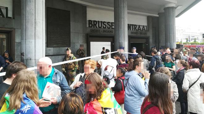 La Gare Centrale de Bruxelles évacuée samedi soir: voici ce qu'il s'est passé