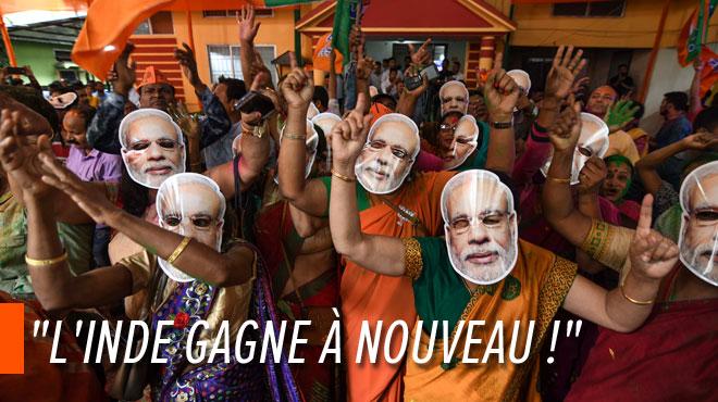 Les nationalistes hindous revendiquent la victoire aux législatives en Inde