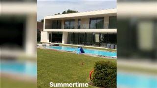 Terrain de basket, jardin immense et belle terrasse- Kevin De Bruyne présente sa nouvelle villa sur Instagram (photos) 3