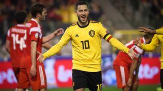 Préparez-vous à faire la fête- Eden Hazard, centenaire chez les Diables, sera mis à l'honneur contre le Kazakhstan 5