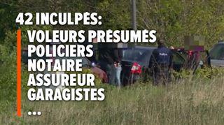 Plus de 1.000 victimes- le parquet révèle les chiffres de l'énorme opération contre une organisation criminelle de vols de voitures 5