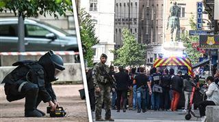Une explosion en pleine rue à Lyon fait une dizaine de blessés légers- un homme à vélo est recherché 4