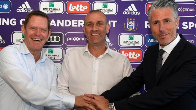 Anderlecht officialise l'arrivée de l'entraîneur qui épaulera Vincent Kompany