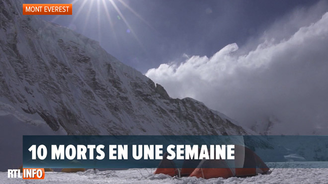 Dix morts en une semaine sur l'Everest: des encombrements en