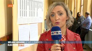 À Liège, C'est vraiment une élection compliquée pour le PS, estime cette spécialiste 3