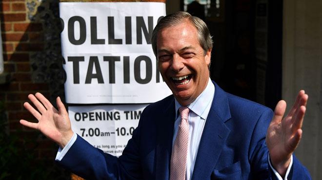 Au Royaume-Uni, Nigel Farage sort large vainqueur des européennes