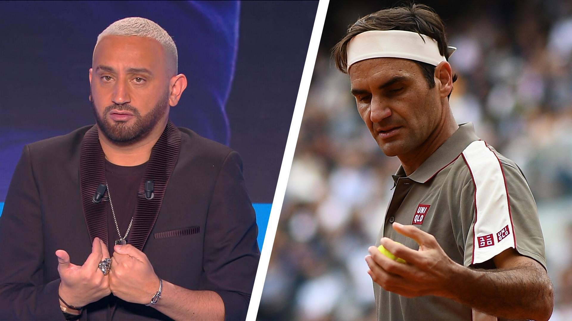 Cyril Hanouna provoque Roger Federer dans un restaurant: