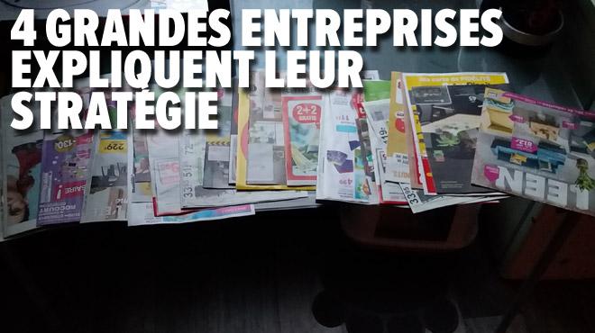 Pascal en a RAS-LE-BOL des prospectus publicitaires: nous avons demandé à 4 enseignes de la grande distribution si elles comptaient arrêter