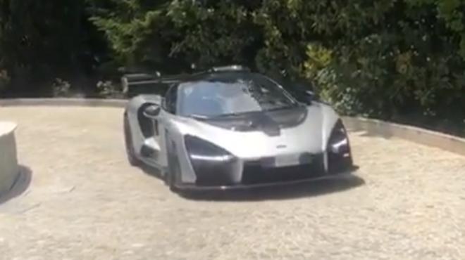 Voici la nouvelle voiture de Cristiano Ronaldo: un bijou de près d'un million d'euros (vidéo)