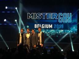 Matthias De Roover est Mister Gay Belgium 2019