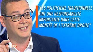 L'avis de Raoul Hedebouw sur le Vlaams Belang- Ce n'est pas un parti social!