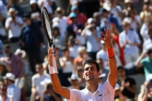 Roland-Garros 2019 : Une promenade et Djokovic rejoint les quarts de finale