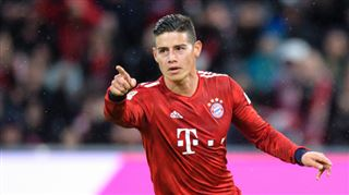 Mercato- le Bayern Munich a pris une décision concernant James Rodriguez
