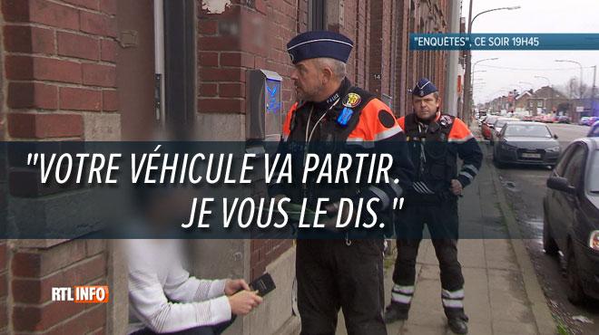 La police repère son véhicule à l'abandon: