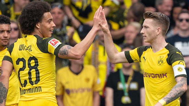 Marco Reus élu meilleur joueur de la Bundesliga, Witsel dans le onze de l'année