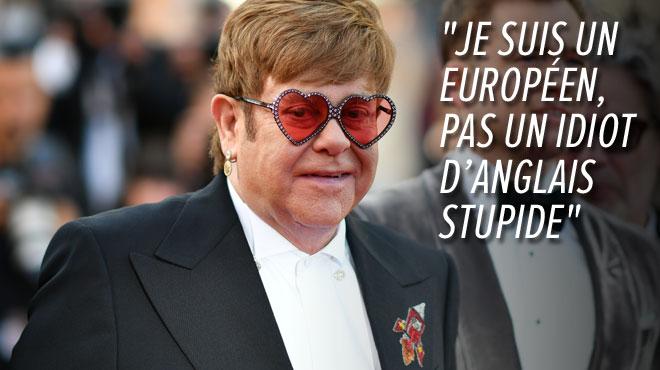 Elton John pousse un gros coup de gueule contre les dirigeants de son pays: