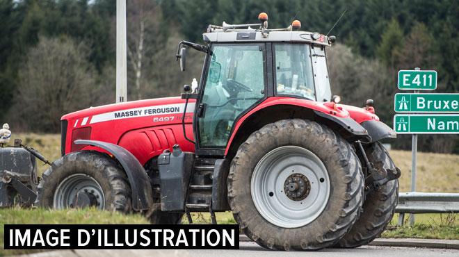 Drame à Chaumont-Gistoux: un agriculteur décède écrasé par son tracteur