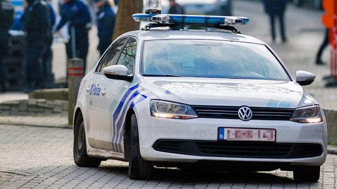 Un cambrioleur présumé écrasé par un véhicule de police à Bierges