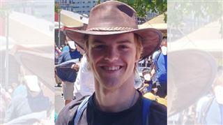 Theo Hayez, étudiant belge porté disparu en Australie- les recherches n'ont jusqu'ici rien donné