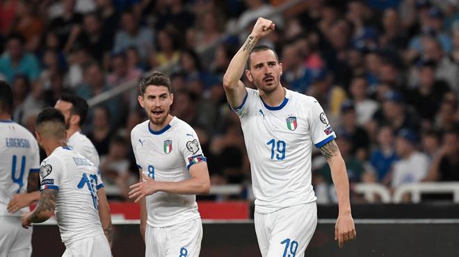 Qualifications Euro 2020: l'Italie ne laisse aucune chance à la Grèce (vidéo)