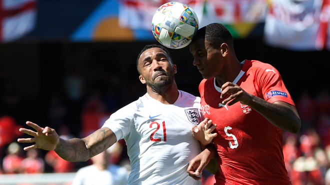 Ligue des Nations: l'Angleterre bat la Suisse au bout du suspense et prend la 3e place