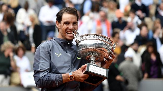 Classement ATP: Nadal impérial à Roland-Garros mais toujours loin de Djokovic, lourde chute pour Goffin