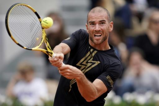 Tennis: Mannarino balaye de Bakker au 1er tour à 's-Hertogenbosch
